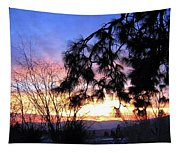 Magnificent Winter Sky Tapestry