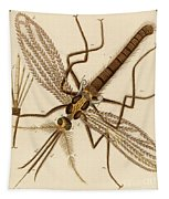 Magnified Mosquito Tapestry