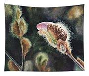 Magnolia Bud By Irina Sztukowski  Tapestry