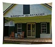 Magnolia Plantation Store Tapestry