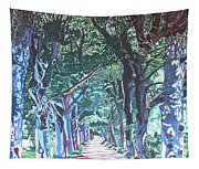 Mahogany Avenue Tapestry