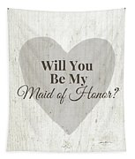 Maid Of Honor Rustic- Art By Linda Woods Tapestry