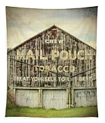 Mail Pouch Barn - Us 30 #7 Tapestry