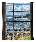 Maine Coast Picture Frame Tapestry
