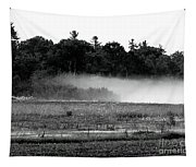 Maine Fog Rolls In  Tapestry