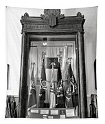 Maine State Capitol Hall Of Flags Modern Conflicts Display Case Tapestry