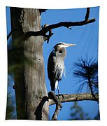 Majestic Great Blue Heron 2 Tapestry