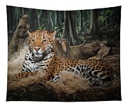 Majestic Leopard Tapestry