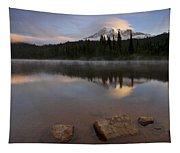 Majestic  Rainier Dawn Tapestry