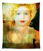 Golden Curls Tapestry