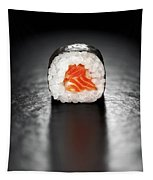 Maki Sushi Roll With Salmon Tapestry