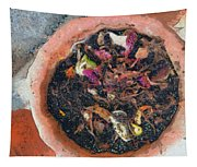 Making Compost Out Of Garbage Tapestry