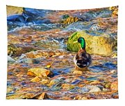 Mallard At The River - Impressions Tapestry