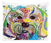 Maltese Puppy Tapestry