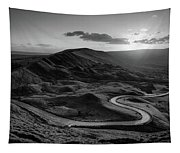 Mam Tor In Derbyshire Tapestry