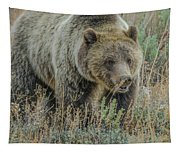 Mama Grizzly Blondie Tapestry
