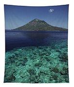 Manado Tua Island Tapestry