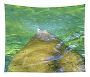 Manatee Exhale Tapestry