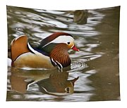 Mandrin Duck With A Purpose Tapestry