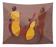 Mango Jazz Tapestry