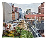 Manhattan High Line Tapestry