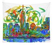 Manhattan Twirl Tapestry