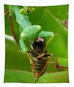 Mantis Munchies Tapestry