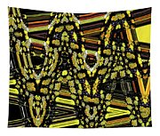 Many Flowers Abstract Tapestry