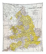 Map: England & Wales Tapestry