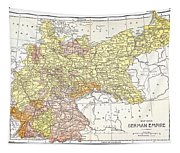Map: German Empire Tapestry