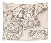 Map: Northeast U.s.a Tapestry
