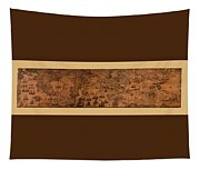 Map Of Cape Breton 1764 Tapestry
