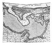 Map Of San Juan, 1766 Tapestry
