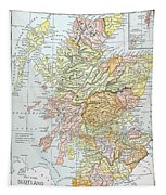 Map: Scotland Tapestry