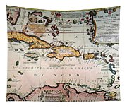 Map: West Indies Tapestry