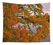 Maple Over The River Tapestry