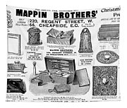 Mappin Brothers Ad, 1895 Tapestry