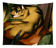 Marc: The Tiger, 1912 Tapestry