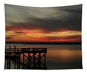 March Sunset Tapestry