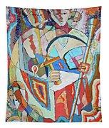 Marcus Garvey And Elders Tapestry