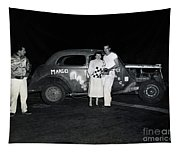 Margo Race Car, Salinas Speedway Oct. 25, 1952 Tapestry