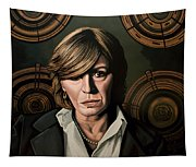 Marianne Faithfull Painting Tapestry