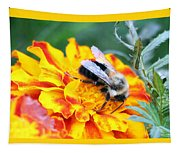 Marigold And The Bee Tapestry
