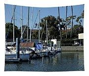 Marina Del Rey California 2 Tapestry