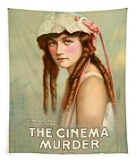 Marion Davies In The Cinema Murder 1919 Tapestry
