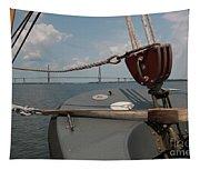 Maritime Bridge View Tapestry