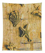 Maritime Sea Scroll Tapestry