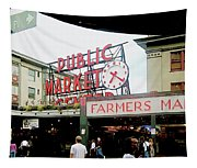 Market Closeup Tapestry