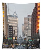 Market Street Philadelphia - In The Morning Tapestry