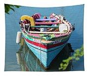 Marley Rowboat Rodney Bay Saint Lucia Tapestry